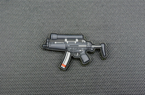 MP5A3 3D PVC MORALE PATCH - Tactical Outfitters