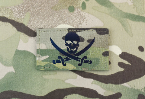 INFRARED MULTICAM CALICO JACK CALL SIGN PATCH - Tactical Outfitters