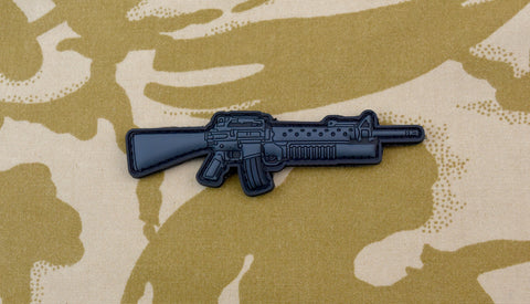 UKSF M16 M203 3D PVC MORALE PATCH - Tactical Outfitters