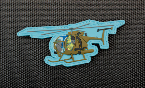 BIG BIRD LITTLE BIRD PVC MORALE PATCH - Tactical Outfitters