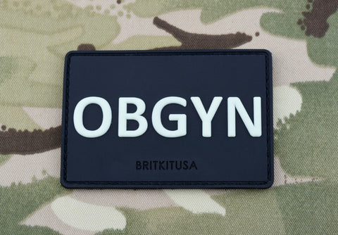 OBGYN GITD PVC MORALE PATCH - Tactical Outfitters