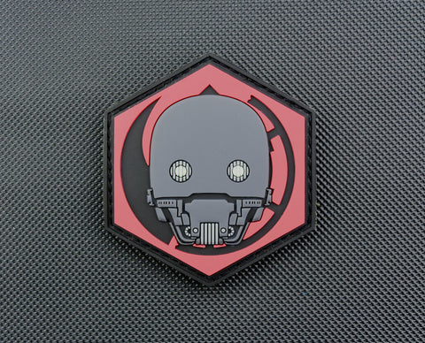 K-2SO GITD 3D PVC MORALE PATCH - Tactical Outfitters