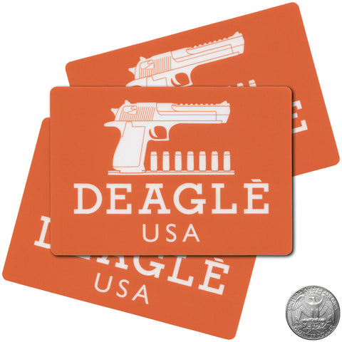 DEAGLE STICKER - Tactical Outfitters