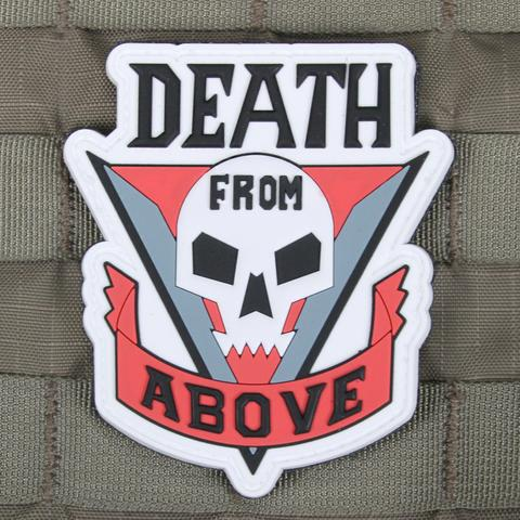 Death From Above PVC Morale Patch - Tactical Outfitters