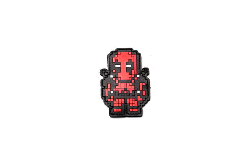8BIT DEADPOOL PVC MORALE PATCH - Tactical Outfitters
