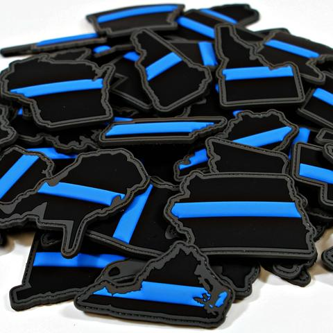 """EVERY STATE IN THIN BLUE LINE"" MORALE PATCH SERIES - Tactical Outfitters"