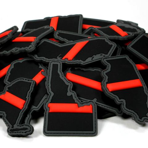 """EVERY STATE IN THIN RED LINE"" MORALE PATCH SERIES - Tactical Outfitters"