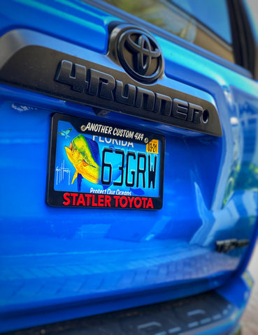 "STATLER TOYOTA ""Another Custom 4x4"" License Plate Frame - Tactical Outfitters"