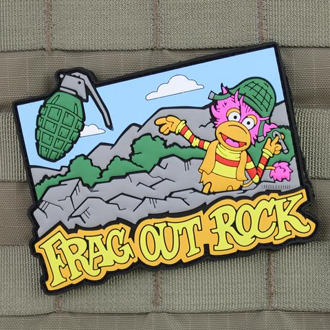 FRAG OUT ROCK MORALE PATCH - Tactical Outfitters