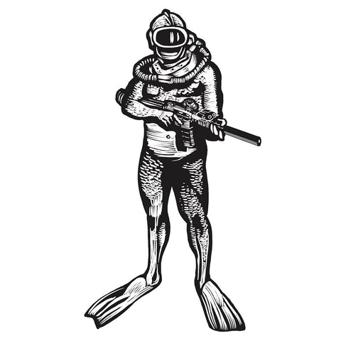 FROGMAN STICKER - Tactical Outfitters