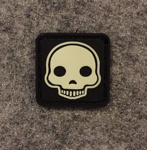 SKULL EMOJI CAT EYE PATCH - Tactical Outfitters
