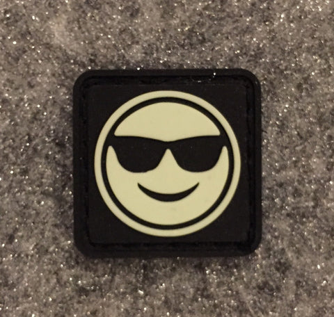 SUNGLASSES EMOJI CAT EYE PATCH - Tactical Outfitters