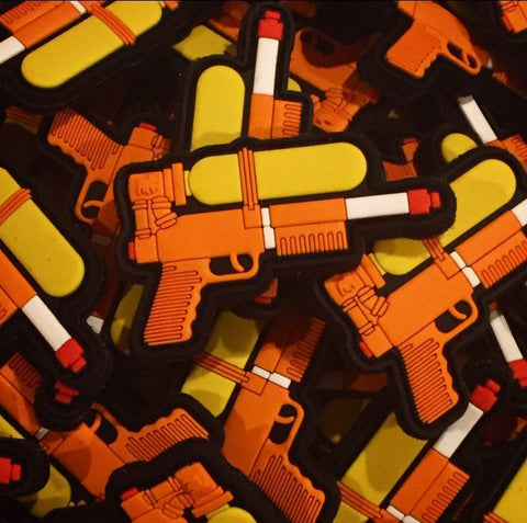SFO LIMITED EDITION SUPER SOAKER 30 PVC MORALE PATCH - Tactical Outfitters