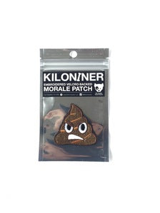 KILONINER - STINKY POOP - MORALE PATCH - Tactical Outfitters