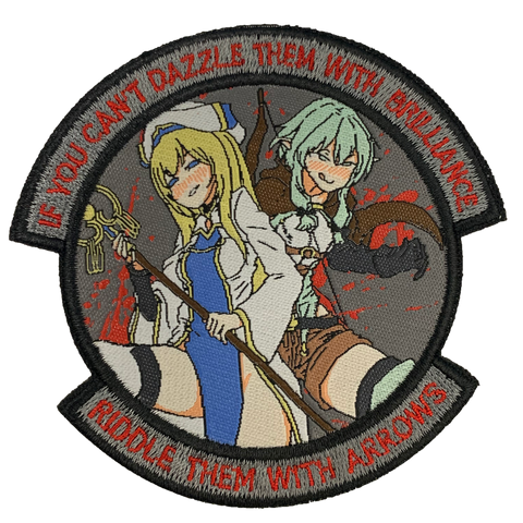 GOBLIN SLAYER GIRLS MORALE PATCH - Tactical Outfitters
