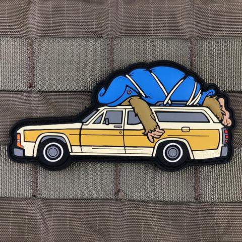 HARRY AND THE HENDERSONS STATION WAGON MORALE PATCH - Tactical Outfitters