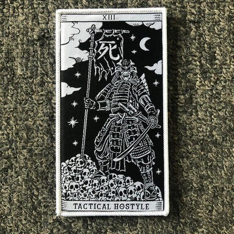 SAMURAI WOVEN MORALE PATCH - Tactical Outfitters