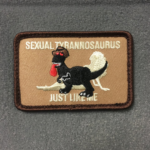 SEXUAL TYRANNOSAURUS - MOJO TACTICAL MORALE PATCH - Tactical Outfitters