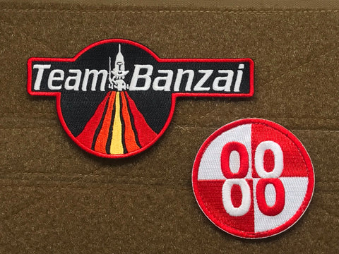 TEAM BANZAI MORALE PATCH SET - Tactical Outfitters