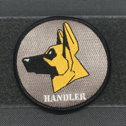 GERMAN SHEPARD HANDLER  MORALE PATCH - Tactical Outfitters