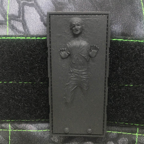 HAN SOLO IN CARBONITE EMBOSSED PVC MORALE PATCH - Tactical Outfitters