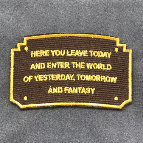 WALT'S WELCOME SIGN MORALE PATCH