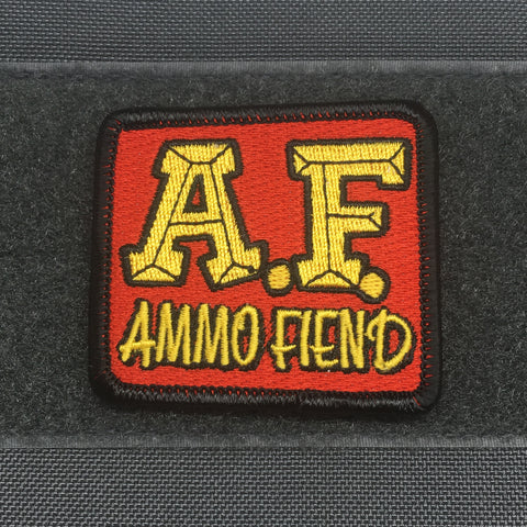 AMMO FIEND V1 MORALE PATCH - Tactical Outfitters