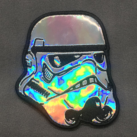 HOLOGRAPHIC STORMTROOPER MORALE PATCH - Tactical Outfitters