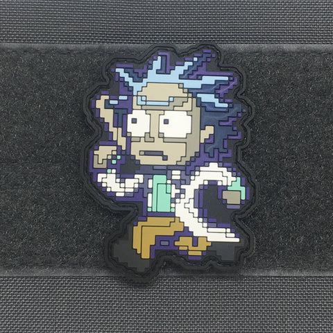 8BIT RICK PVC MORALE PATCH - Tactical Outfitters