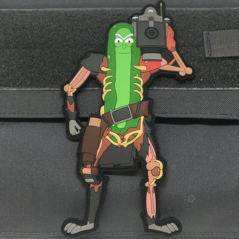 PICKLE RICK RAT SUIT V3 - 3D PVC MORALE PATCH - Tactical Outfitters
