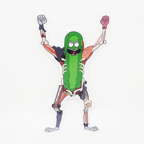 PICKLE RICK RAT SUIT V1 STICKER - Tactical Outfitters