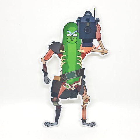 PICKLE RICK RAT SUIT V3 STICKER - Tactical Outfitters