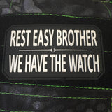 Rest Easy Brother PVC Morale Patch - Tactical Outfitters