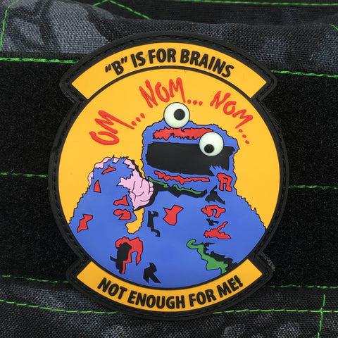 ZOMBIE COOKIE – MOJO TACICAL PVC MORALE PATCH - Tactical Outfitters