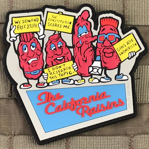 THE CALIFORNIA RAISINS MORALE PATCH - Tactical Outfitters