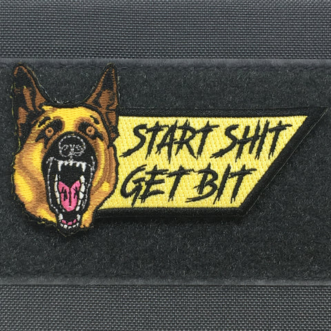 START SHIT GET BIT - MORALE PATCH - Tactical Outfitters