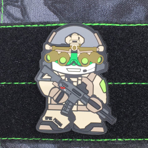 BUSTER PVC MORALE PATCH - Tactical Outfitters