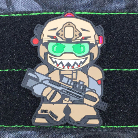 SHARK TOOTH PVC MORALE PATCH - Tactical Outfitters