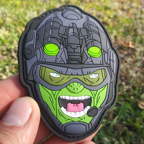 Tactical Hulk PVC Morale Patch - Tactical Outfitters