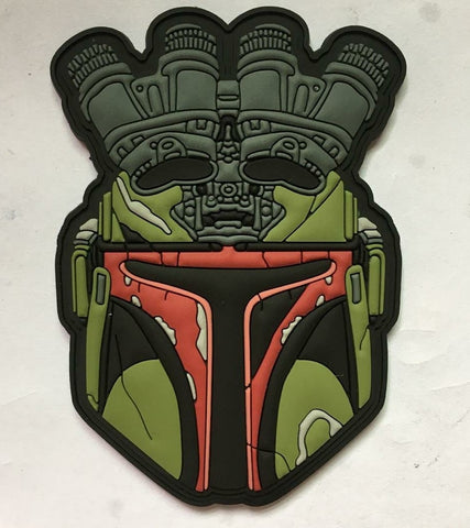 Boba Nods PVC Morale Patch - Tactical Outfitters