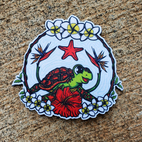 HAWAIIAN HONU MORALE PATCH - Tactical Outfitters