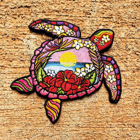 HAWAIIAN SUNSET HONU MORALE PATCH - Tactical Outfitters