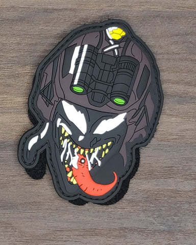 Venom PVC Morale Patch - Tactical Outfitters