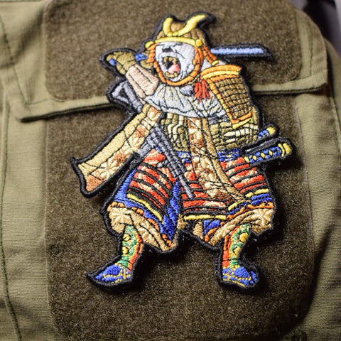 Samurai Bear Morale Patch - Tactical Outfitters