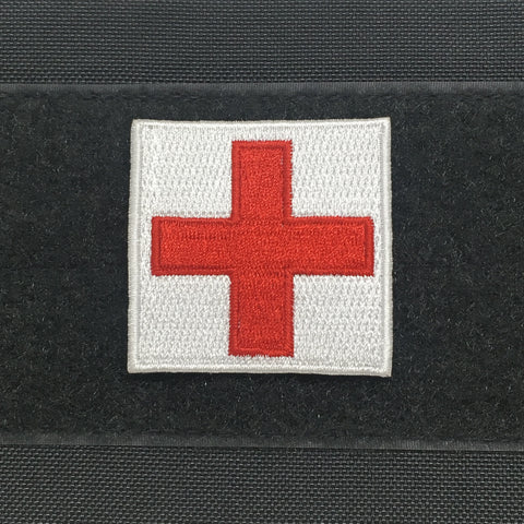 "MEDIC SQUARE 2"" PATCH - Tactical Outfitters"