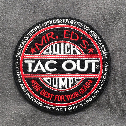 TAC WAX MORALE PATCH - Tactical Outfitters