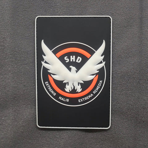 DIVISION SHD GITD PVC MORALE PATCH - Tactical Outfitters