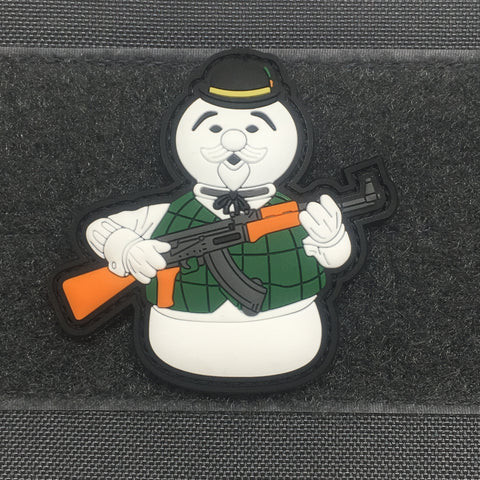 SAM THE SNOWMAN 3D PVC MORALE PATCH - Tactical Outfitters