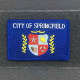 CITY OF SPRINGFIELD FLAG MORALE PATCH - Tactical Outfitters