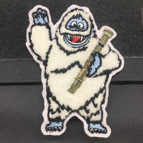 BUMBLE THE ABOMINABLE SNOW MONSTER MORALE PATCH - Tactical Outfitters